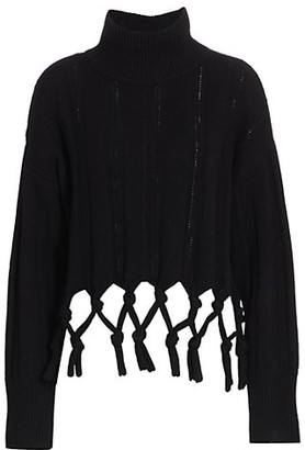 Jonathan Simkhai Josephine Chunky Tassel Sweater
