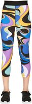 Emilio Pucci Printed Stretch Lycra Leggings