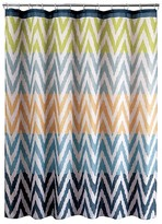 Nobrand No Brand Ikat Shower Curtain - Multi-Color