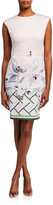 Ted Baker Hailey Everglade Printed Bodycon Dress