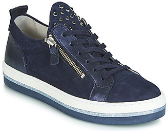 Gabor JOLANO women's Shoes (Trainers) in Blue