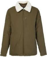 A.P.C. fur collar jacket - men - Cotton/Viscose/Polyimide - XL
