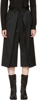 MM6 MAISON MARGIELA Black Short Suit Trousers