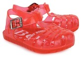 BOSS Red Jelly Sandals