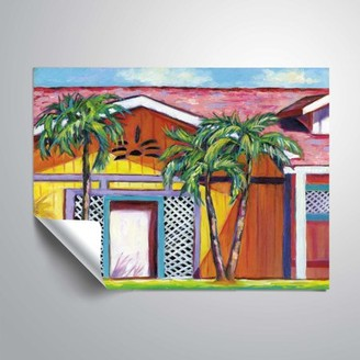 ArtWall Cayman colors, Removable Wall Art Mural by Eve Wheeler