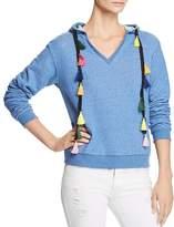 Honey Punch Tassel Hooded Sweatshirt