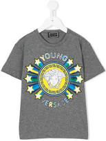 Versace starry logo print T-shirt