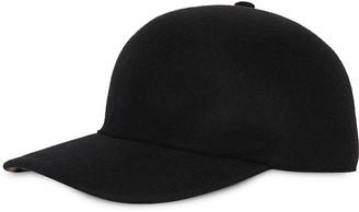 Burberry Felted Wool Baseball Cap