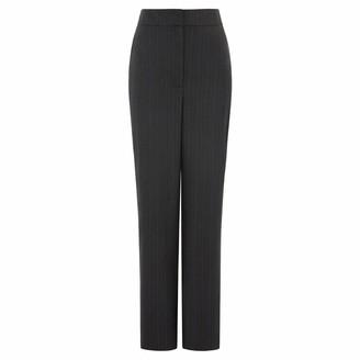 Sabinna Wonder Trousers Navy Pinstripe