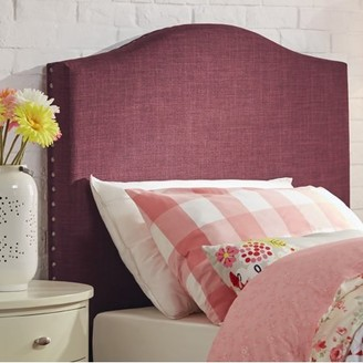 Weston Home Twin Graceful Curved Headboard, Multiple Colors