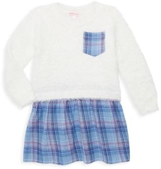 Design History Little Girl's Sweater & Skirt Dress