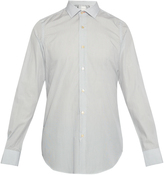 Paul Smith Single-cuff pin-dot print cotton shirt