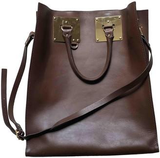 Sophie Hulme Brown Leather Handbags