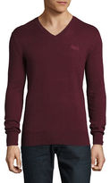 Superdry Orange Label V-Neck Sweater