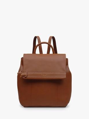 Radley Lynton Large Leather Backpack, Tan