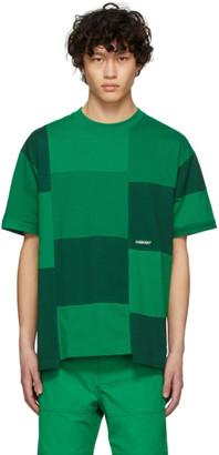 Ambush Green Block Panel T-Shirt