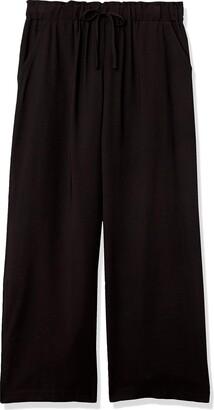 Rafaella Women's Solid Pull-On Fluid Pant