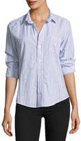 Frank And Eileen Barry Striped Button-Front Shirt