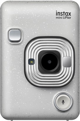 Instax Mini By Fujifilm Instax Mini LiPlay Hybrid Instant Camera - Stone White