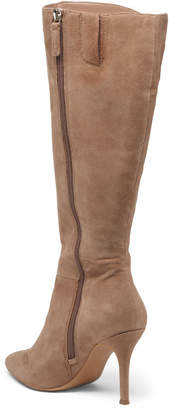 Wide Calf Suede Boots