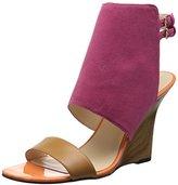 Nine West Women's Bueta Suede Wedge Sandal