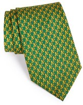 Vineyard Vines Men's 'Oakland Athletics - Mlb' Woven Silk Tie