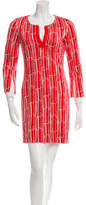 Diane von Furstenberg Silk Printed Dress