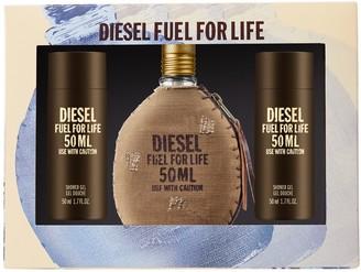 Diesel Fuel for Life 3-Piece Men's Cologne Gift Set - Eau de Toilette ($71 Value)