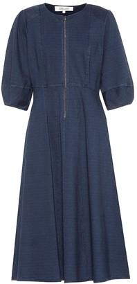 Diane von Furstenberg Thea stretch cotton dress