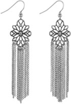 Sam Edelman Filagree Tassle Drop Earring