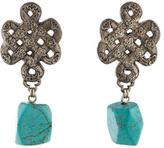 Stephen Dweck Turquoise Drop Earrings