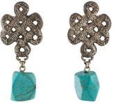 Stephen Dweck Turquoise Drop Earrings