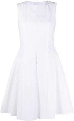 Paule Ka Flared Style Mini Dress