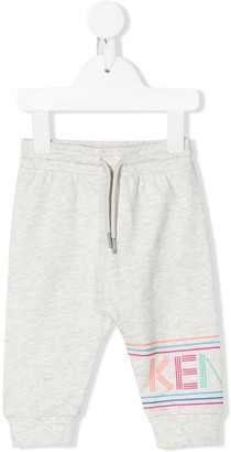 Kenzo Kids Logo Print Track Trousers