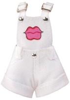 MGA Entertainment Lip Overall Cutoff Shorts