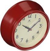 Infinity Instruments 14751RD-3773 Cucina Silent Wall Clock