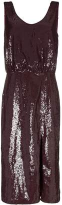 Johanna Ortiz Tarantella sequinned backless dress