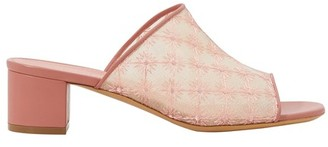 Mansur Gavriel Embroidered mules