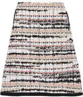 Oscar de la Renta Bouclé-Tweed Mini Skirt