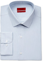 Alfani Men's Performance Light Blue Mallard Dobby Dress Shirt, Only at Macy's