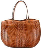 Cole Haan Genevieve Open Weave Leather Tote