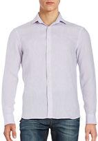 Black Brown 1826 Linen Sportshirt