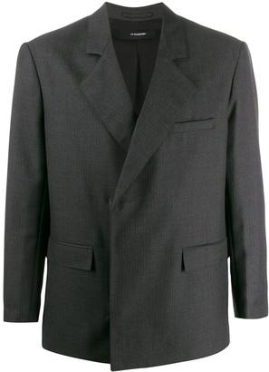 Gr Uniforma Pinstriped Oversized Blazer
