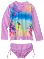 Seafolly Girls La Mermaid UV Sunvest Set (6mos7yrs) - 8120290