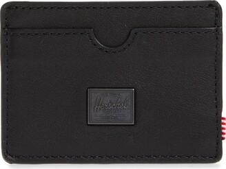 Herschel Charlie RFID Leather Card Case