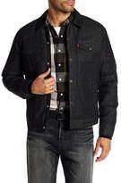 Levi's Down Filled Denim Trucker Jacket