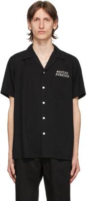 Wacko Maria Black 50s Short Sleeve Shirt