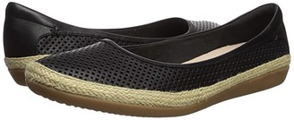Clarks Danelly Adira (Black Leather) Women's Shoes
