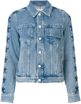 Givenchy star trim denim jacket