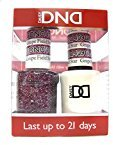 DND Gel & Matching Polish Set #409 - Grape Field Star. Buy 5 any colors get 1 Diamond super fast drying top coat 0.5 oz Free by DND Gel